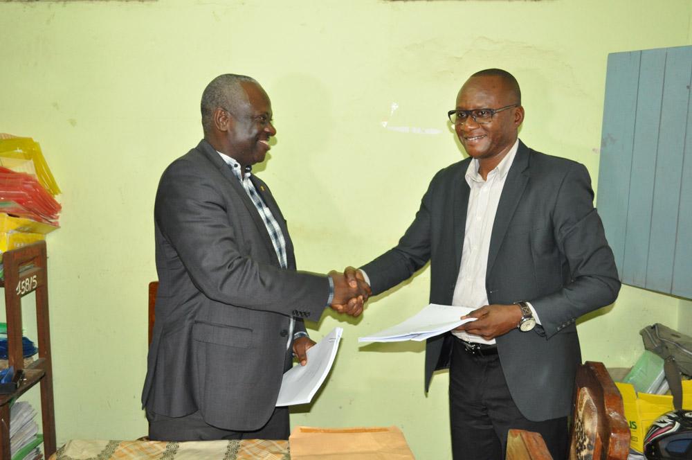 Signature du contrat de partenariat entre le FPM ASBL et CAMEC MBANZA NGUNGU
