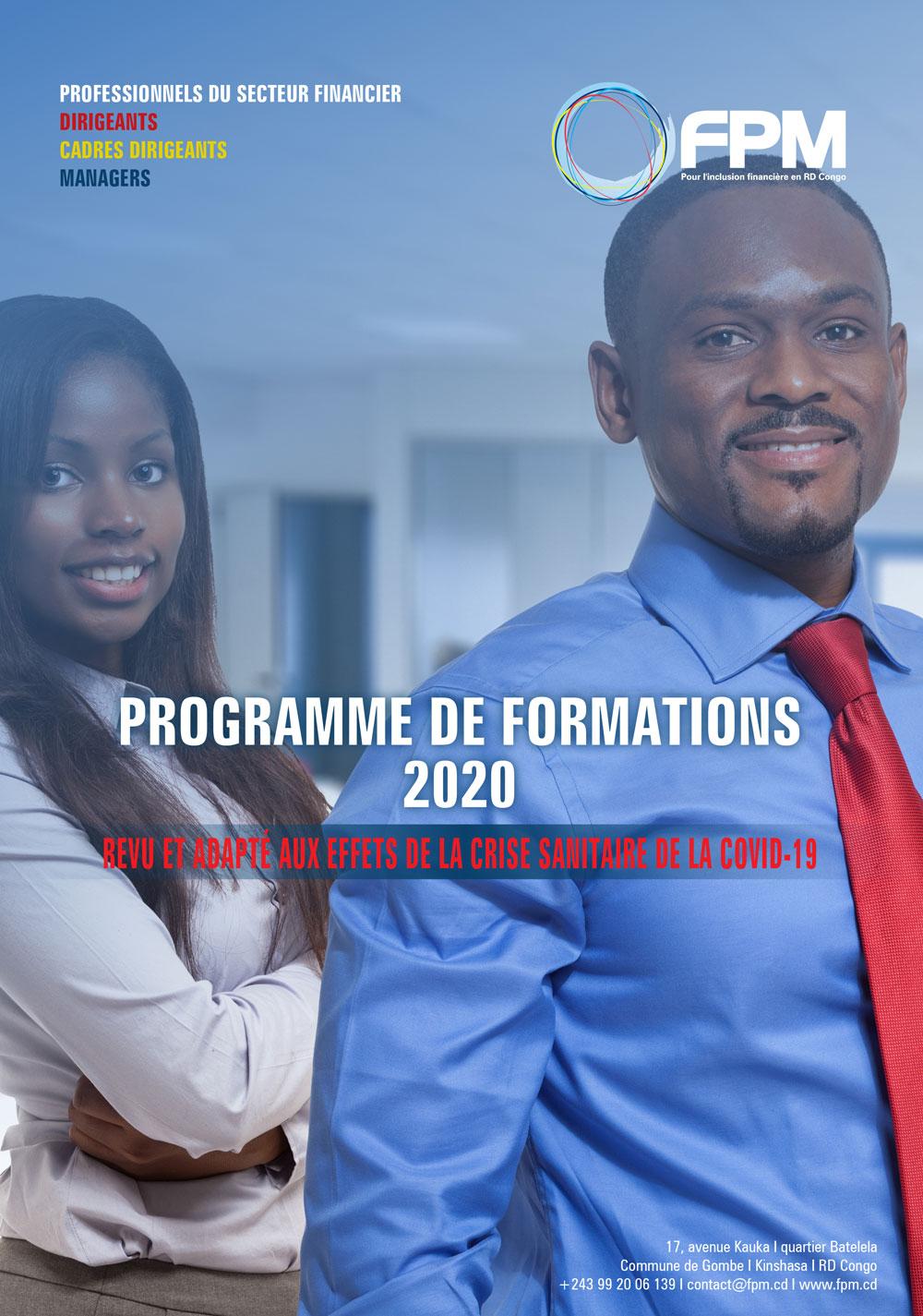 Lancement du programme de formation 2020 du FPM (Actualisé à la suite de la COVID-19)